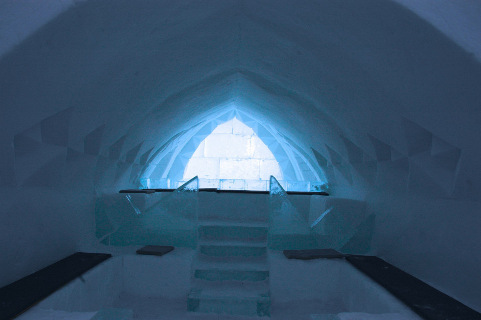 Snow castle, VIP