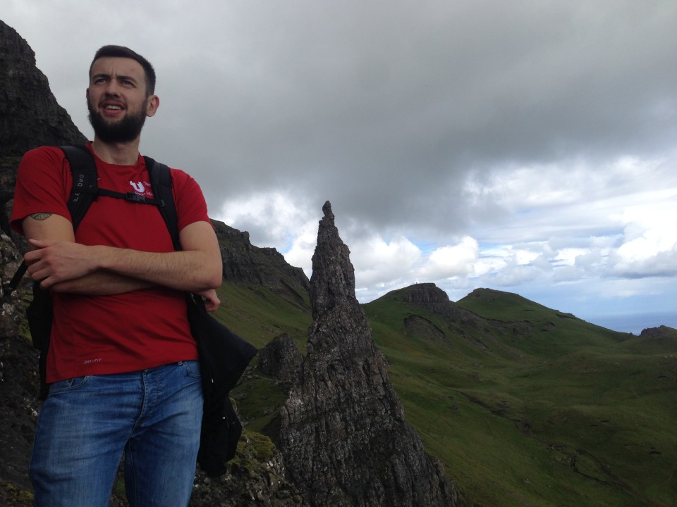 Exploring the Highlands is always best done with a handsome Scottish man.