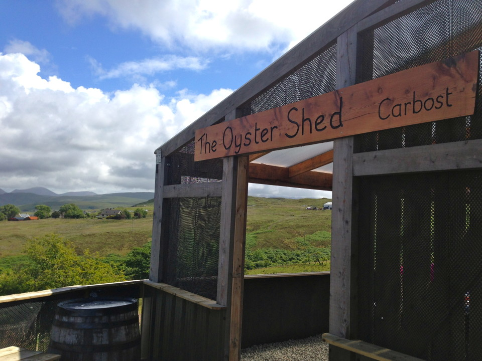 The Oyster Shed in Cabost
